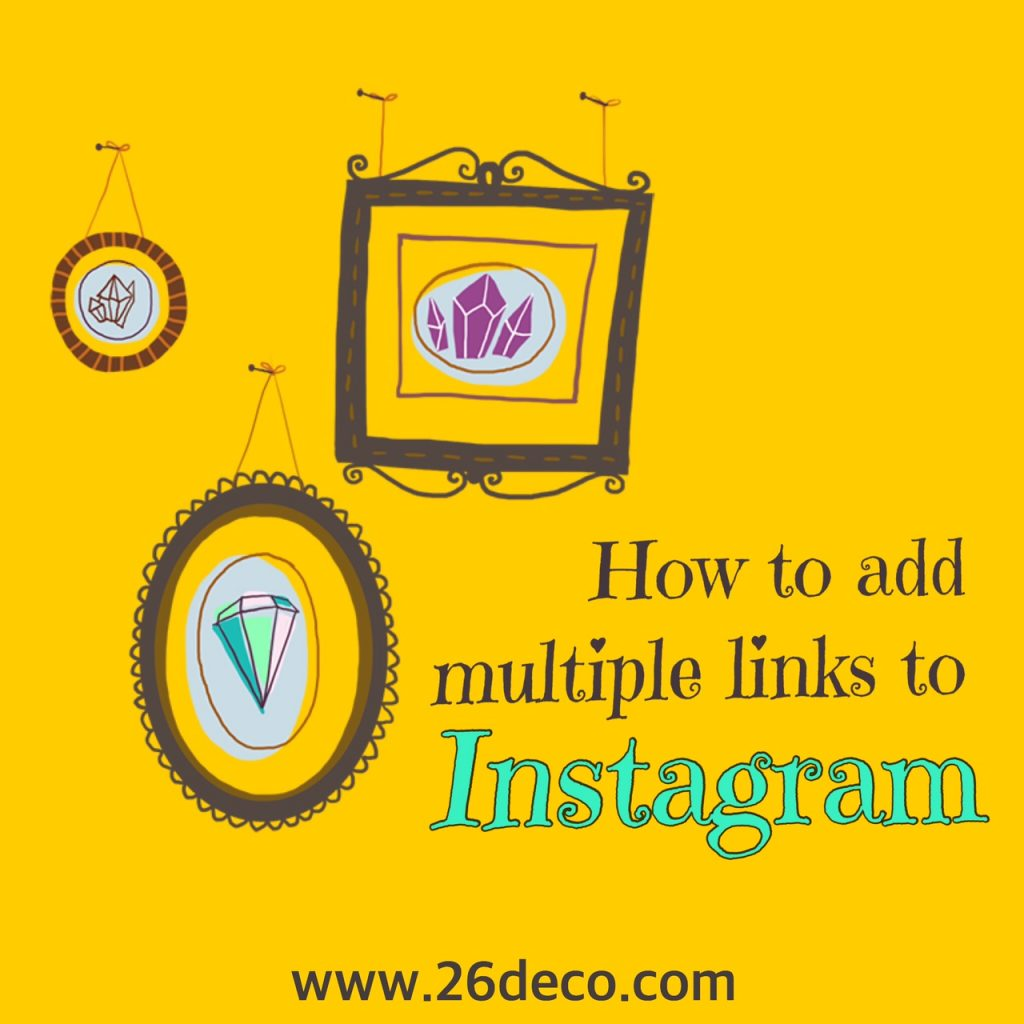 How to add multiple Links to Instagram Profile